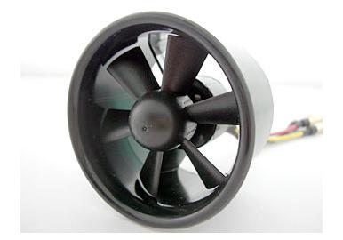 "6 Bladed EDF Ducted Fan Unit 2.17""/55xH42mmmm"