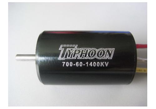 Typhoon 700-60 1865KV brushless motor
