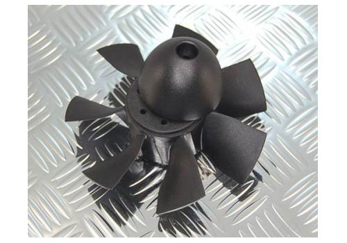 "1.97"" / 50mm EDF (6blade) Replacement fan"