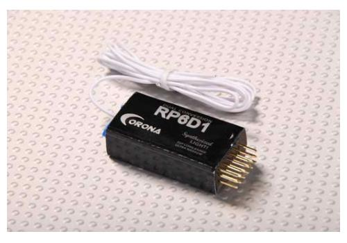 Corona RP6D1 Synthesized Dual Conversion Receiver 6Ch 35Mhz