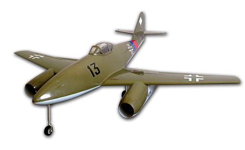RC ME-262 Olive Green
