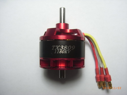 Typhoon Xtreme Brushless outrunner TX3809-1180KV