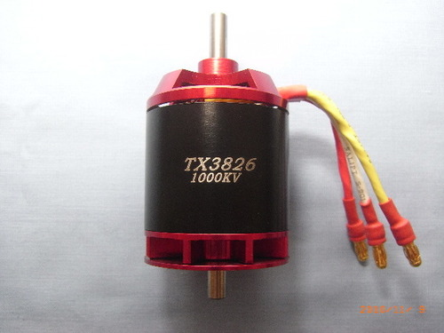 Typhoon Xtreme Brushless outrunner TX3826-1000KV