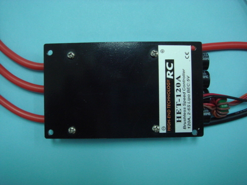 HET 120A Brushless Speed Controller