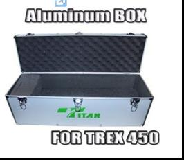 Aluminum Transmitter Box For rc helicopter