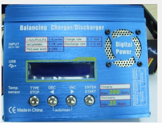 B610A RC battery charger