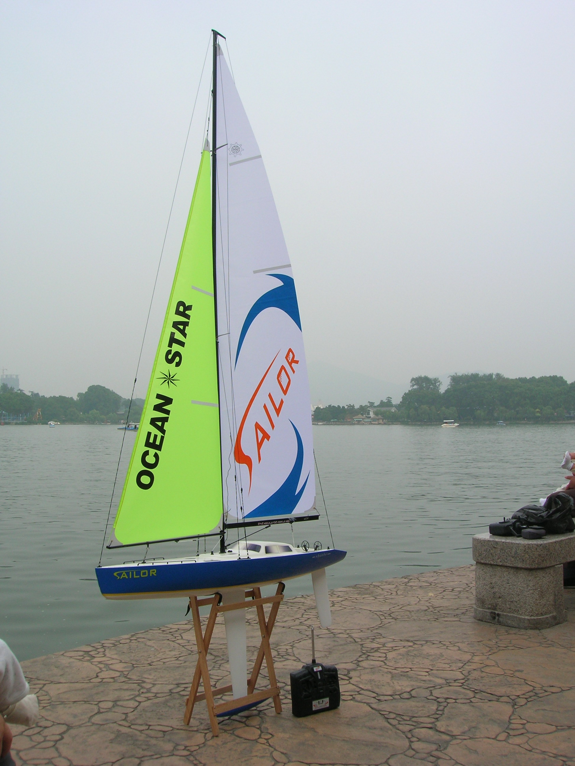 Sailor 1000 Wind Power Racing Sailing Boat