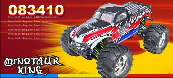 RC Nitro 1/8 4WD Racing truck