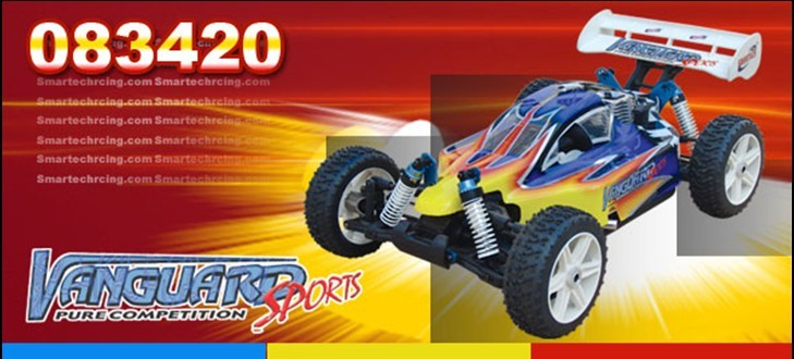 RC Nitro Off-road 1/8 4WD racing car