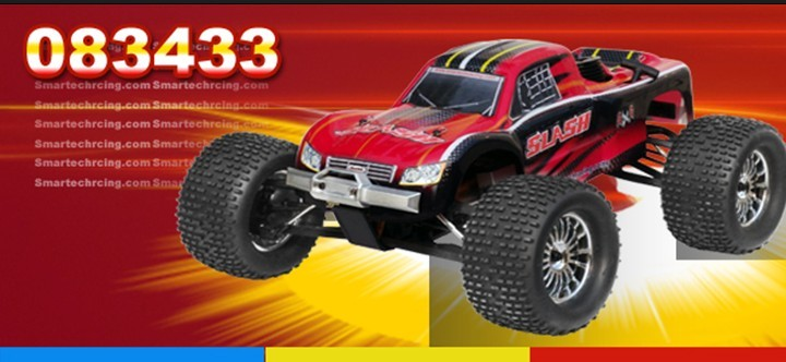 1/8 4WD Nitro Truggy Car