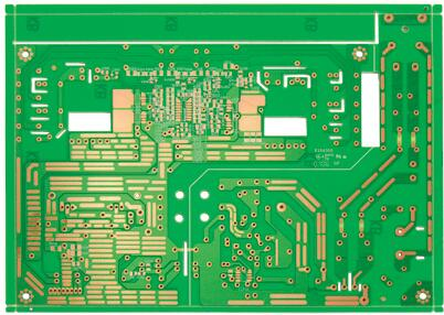 Single side power PCB