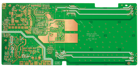 Single side LCD pcb board